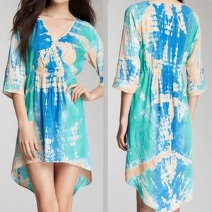 Vfish Tie-Dyed Hi-Lo Dress